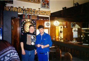 Herb, dart champion in America and...Stokov