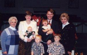 Timmy's Baptism