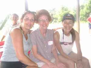 Peggy, Tracy, and Katrina (class of '82)