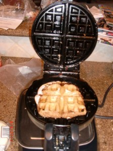 Waffleless Grilled Cheese