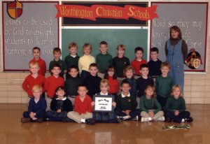 Jeffy's Class Picture