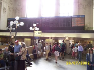 Brno Train Station