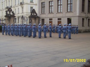 Changing of the guard in Prague