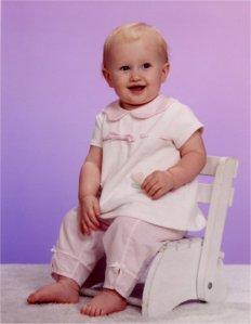 Rachel at 1 year