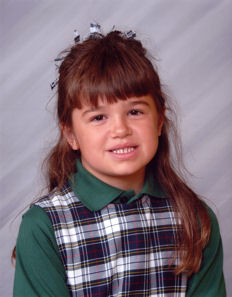 Abby's Second Grade Picture
