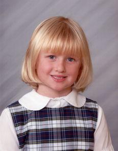 Rachel's First Grade Picture