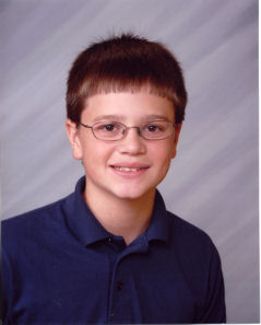 Tim's Seventh Grade Picture