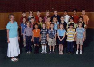 Abby's 1st Grade Class