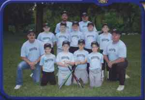 Tim, Jeff, & Casey's baseball team '05