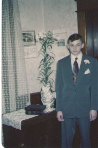 I believe this is my father's confirmation picture (He wasn't my father then ;-)