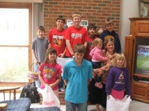 2007 Easter Egg Hunt at Grandmas