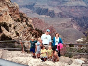 Gruenbaums at Grand Canyon