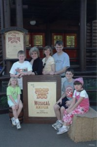 Gruenbaum's and Grandma at the Hoop-dee-doo Review. It was our 3rd time.