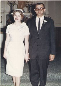 My parent's wedding picture - September 1963