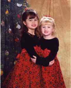 Abby & Rachel standing