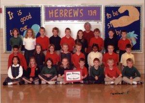 Tim's Third Grade Class