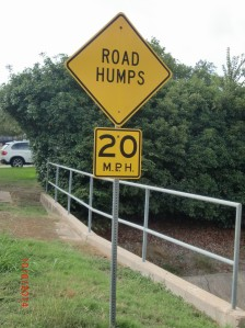Beware of the Road Humps...